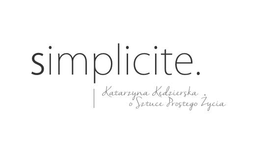 Podlaska lista prostych przyjemności Simplicite
