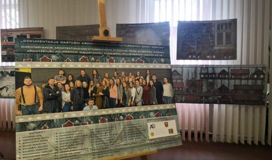 Korycin odkryty – wernisaż wystawy studentów PB