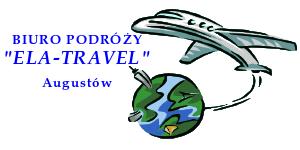 """Biuro Podróży """"ELA – TRAVEL"""" Augustów Elżbieta Kamińska"""
